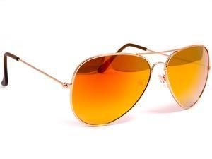 Okulary przeciwsłoneczne lustrzanki Prius P 402 O. Okulary Aviator z lustrem.