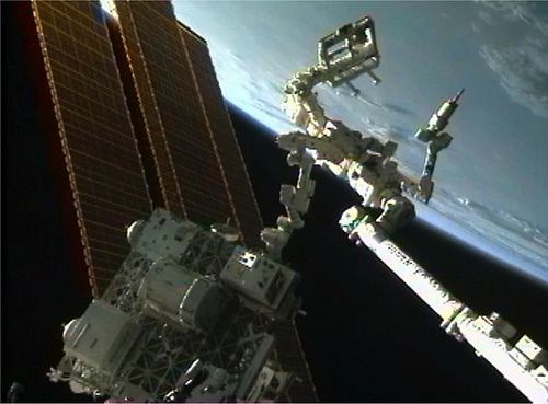 RRM Installed onto Permanent Home on the International Space Station