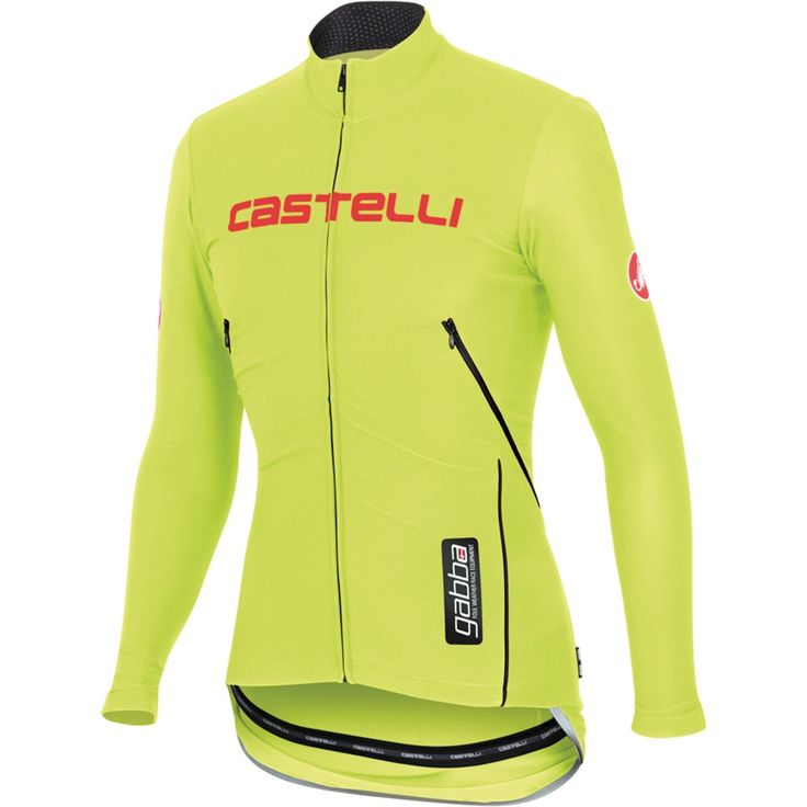 Castelli Gabba WS Long Sleeve Jersey - Yellow | Merlin Cycles