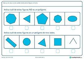 Figuras geométricas - Mundo Primaria