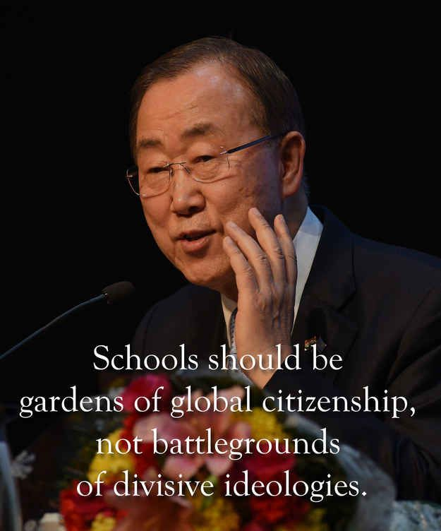 6 Excerpts From Ban Ki-Moon's Speech In New Delhi That India Should Pay Attention To