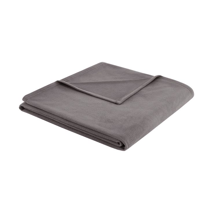 3M Scotchgard Micro Fleece Blanket (Full/Queen) Grey