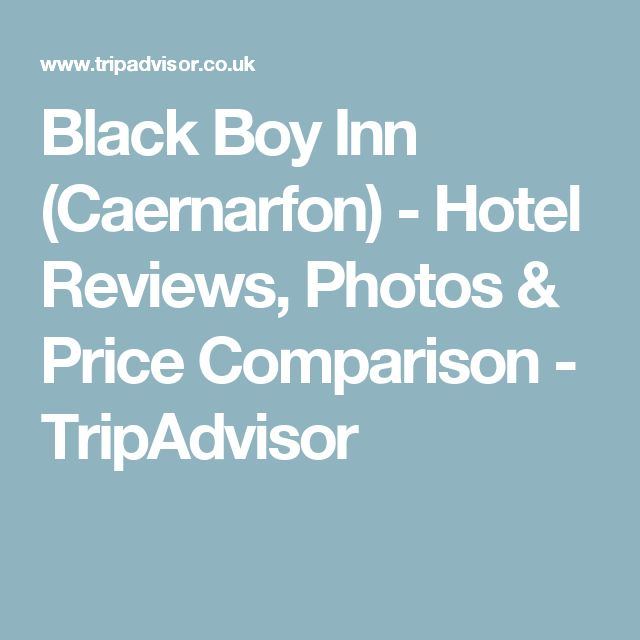 Black Boy Inn (Caernarfon) - Hotel Reviews, Photos & Price Comparison - TripAdvisor