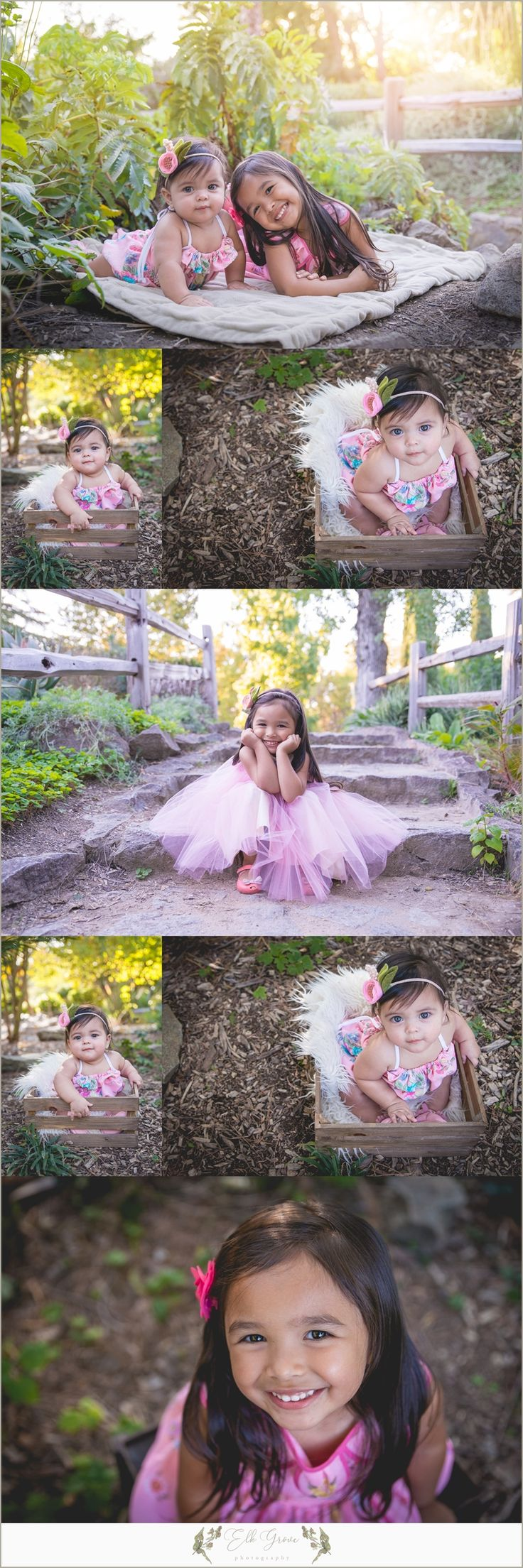 Sisters. Siblings. Family Photography by Elk Grove Photography - Natural Light - Posing Ideas for Families, Siblings, Parents, Couples, and Large Groups. Unposed Candid Ideas. Family Photography Outfit Ideas and Color Palettes. Sacramento, CA.