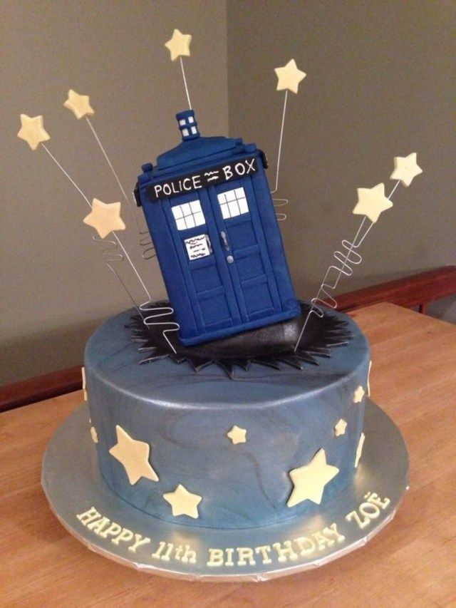 Peachy 30 Marvelous Photo Of Dr Who Birthday Cake Doctor Who Cakes Funny Birthday Cards Online Inifofree Goldxyz