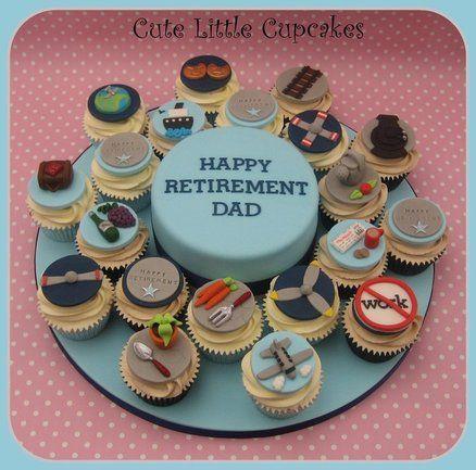 retirement cupcakes | Retirement Cake & Cupcakes - by HeidiS @ CakesDecor.com - cake ...