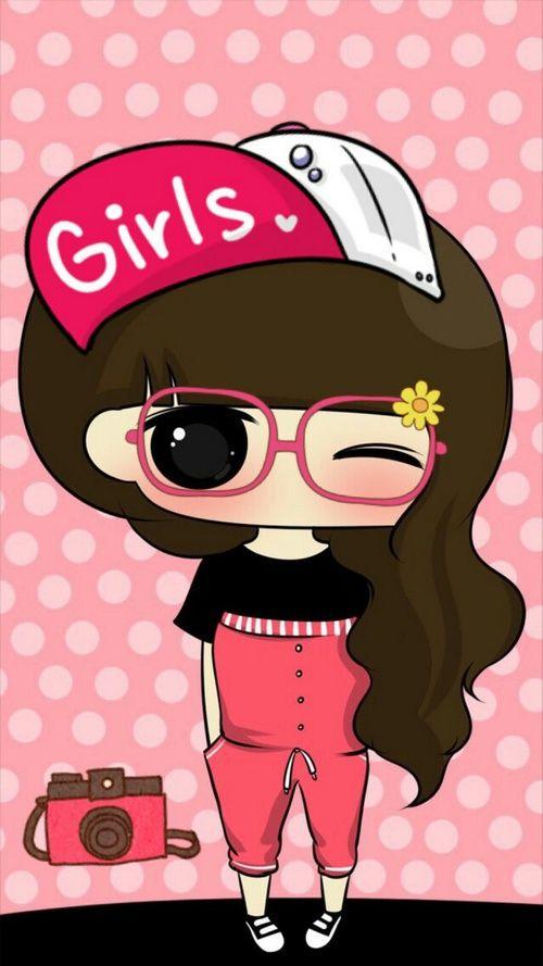รูปภาพ girl, pink, and cute