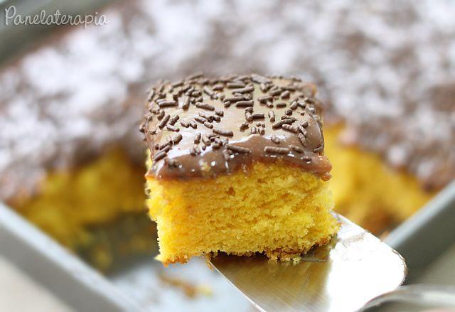 Bolo de Cenoura com Brigadeiro ~ PANELATERAPIA - Blog de Culinária, Gastronomia e Receitas