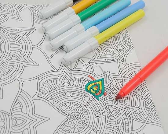crea quaderno con copertina da colorare