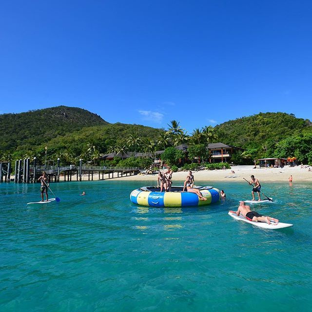 Fitzroy Island offers adventures for everyone! #thisisqueensland by @ragingthunder