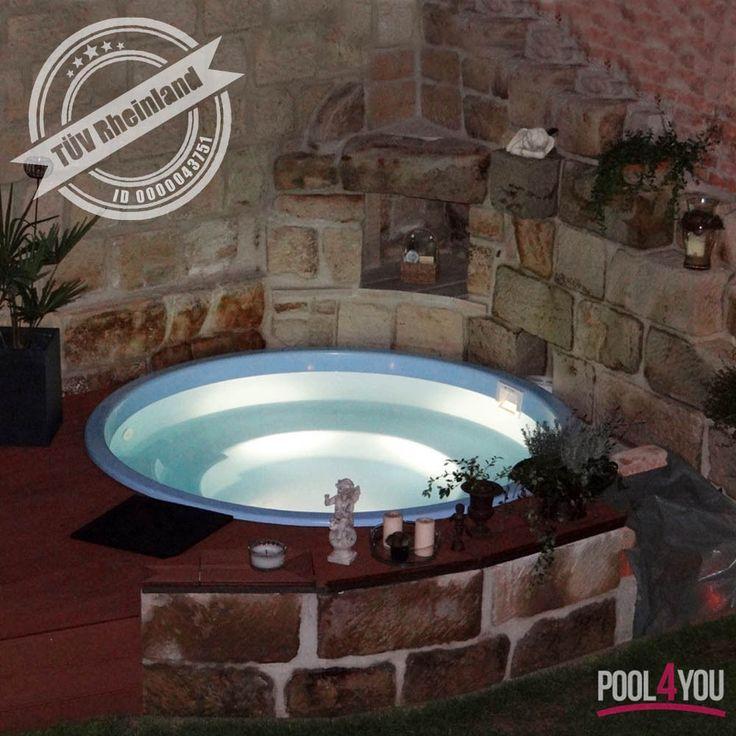 swimming pool gfk tapeten 2017. Black Bedroom Furniture Sets. Home Design Ideas