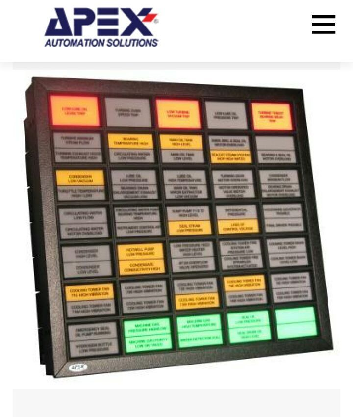 9 best alarm annunciators images on pinterest craft space orange apex automation designs manufactures and sells a wide range of state of the art alarm annunciators to a global customer base of industry leading brands swarovskicordoba Choice Image