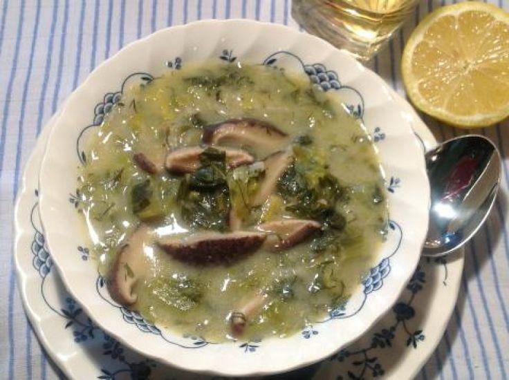 Μαγειρίτσα για χορτοφάγους - gourmed.gr
