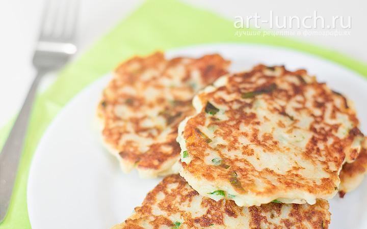Картофельные оладьи с сыром пошаговый рецепт с фото
