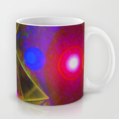 Blackhole Prism Mug by The Digital Weaver - $15.00