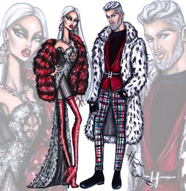 Mrs & Mr Claus by Hayden Williams