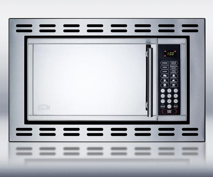 Summit OTR24 Built In Microwave Oven, in Stainless Steel