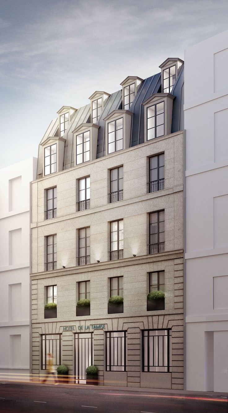 Hotel La Tamise - Paris - Reopening - The facade