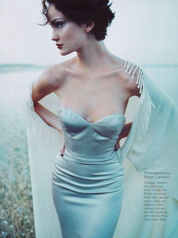 Ines Rivero by Regan Cameron for Vogue UK