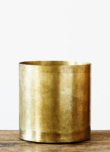 how to clean brass pots