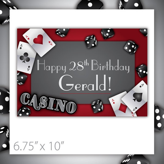 20 best birthday cards ideas images – Poker Birthday Cards