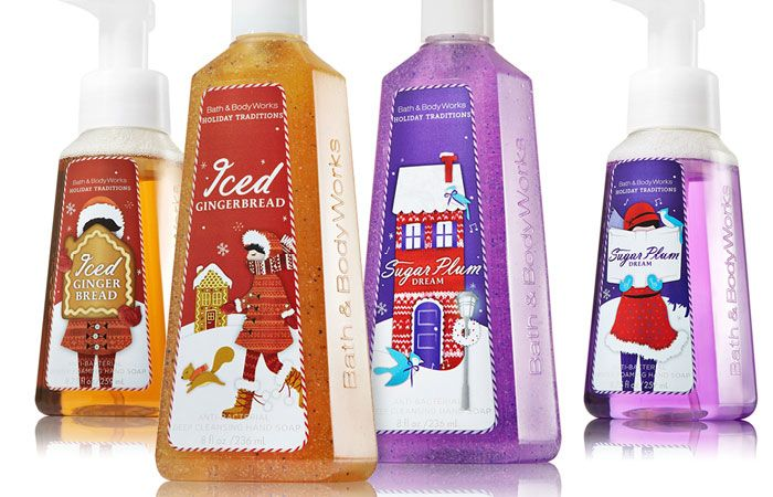 Bath & Body Works #Holiday #Packaging