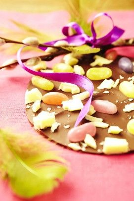 #DIY chocolate for Easter. Easy and delicious!