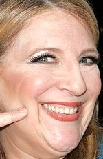 Lisa Lampanelli ( #LisaLampanelli ) - an American stand-up comedian and insult comic who made a switch from journalism, and much of her material is racy and features ethnic humor, centering on various types of minorities, most notably racial minorities and homosexuals - born on Wednesday, July 19th, 1961 in Trumbull, Connecticut, United States