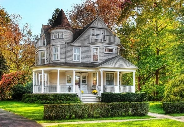259 Best Images About Victorian Homes On Pinterest Queen Anne Wrap Around