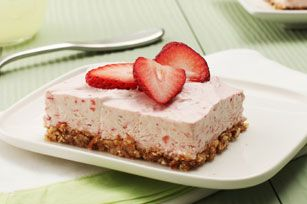 Strawberry Margarita Squares Recipe - Kraft Recipes