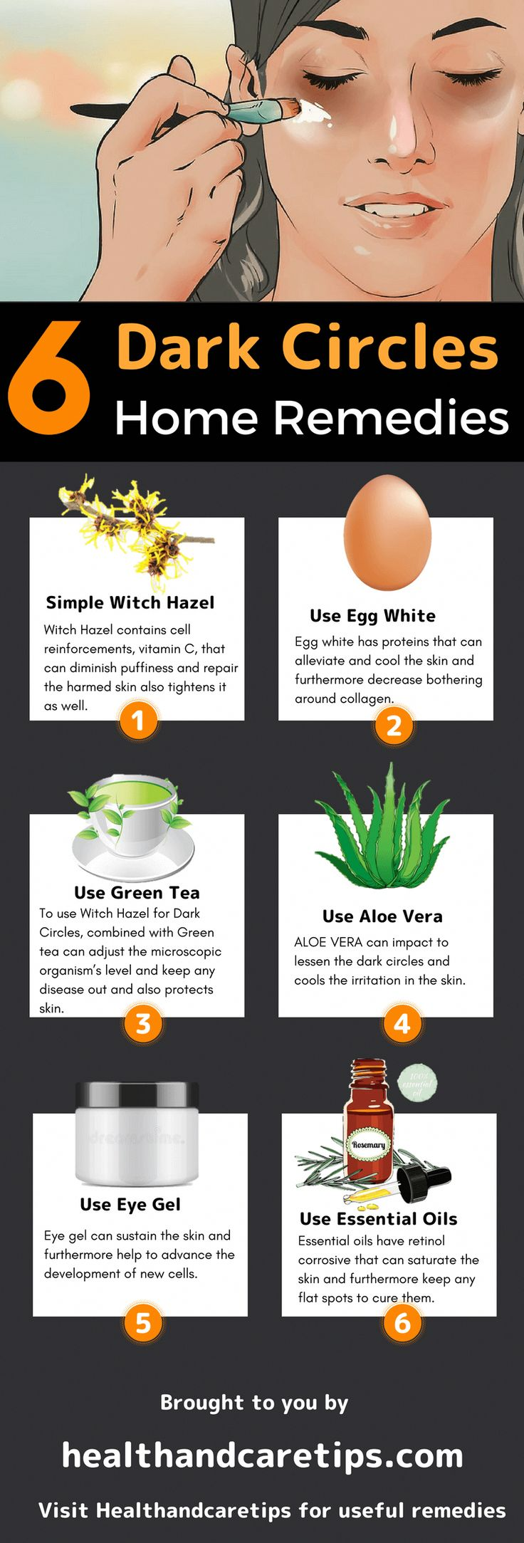 6 DIY Home Remedies of Witch Hazel for Dark Circles – TOP ...