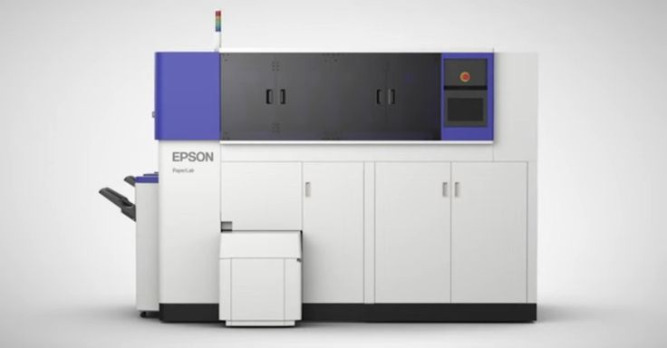 Printer company Epson developed an in-office paper recycling system to make recycling more efficient and sustainable.