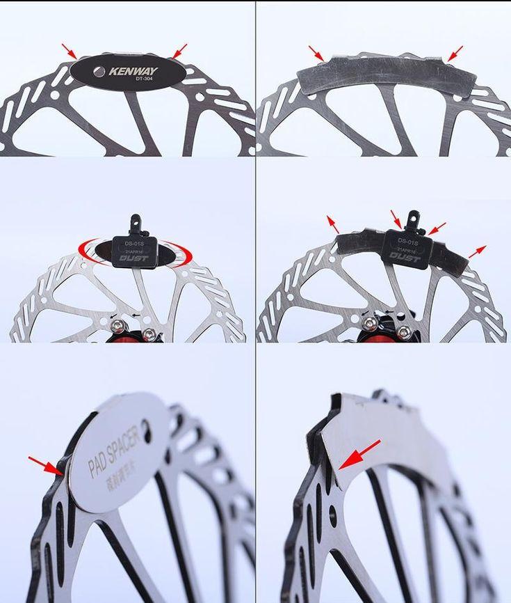 Bicycle Parts Rotor Alignment  Brake Pads Spacer MTB Disc  Bike Repair Kit