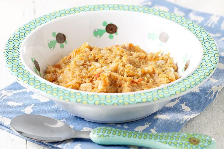 Er gaat niks boven de smaken van Italië! Kalfsrolletjes, mozzarella en tomatensaus voor jou. Escalope, groentjes en rijst voor je baby. Dit recept is geschikt voor baby's vanaf 8 maanden, maar dan zonder mozzarella!