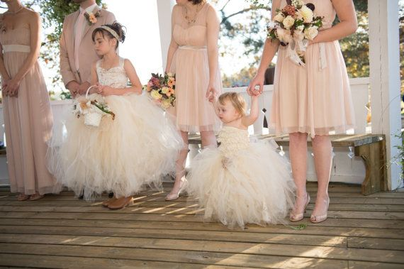 899ed6bcf flower girl dress vintage flower girl tutu dress by alorasafari | Wedding | Flower  girl dresses, Vintage flower girls, Dresses