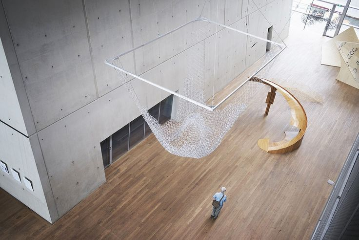 A Canopy Made of 10,000 BIC Pens by AAU Anastas