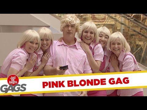 Pink Blonde Prank - Throwback Thursday - Funny Prank Videos - Joke King