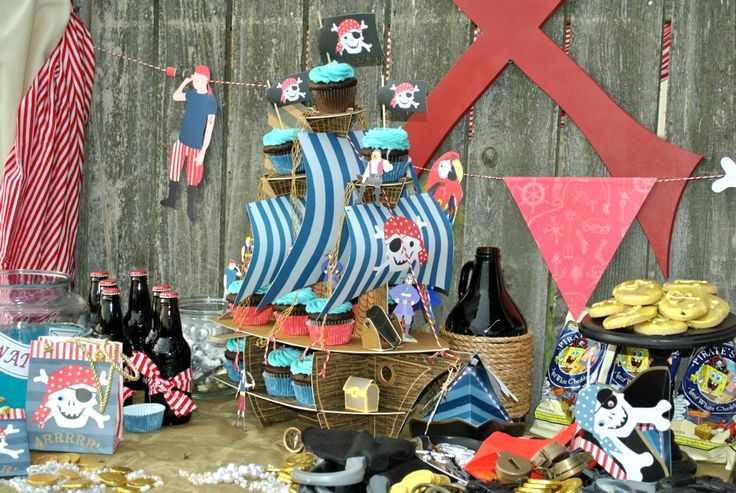 X Marks the Spot ~Pirate Party~