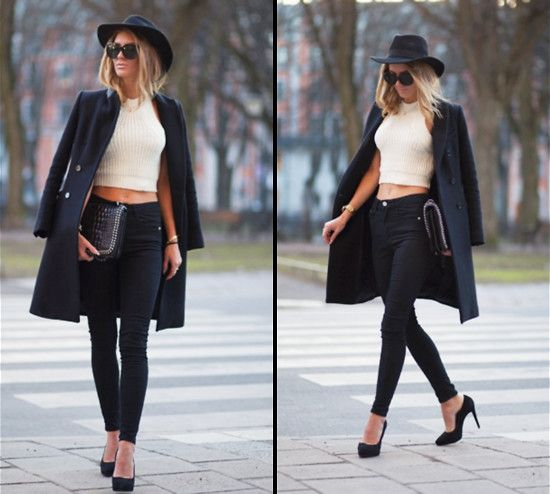 Spotted! Fresh fashionista @sofiahanden in our crop top