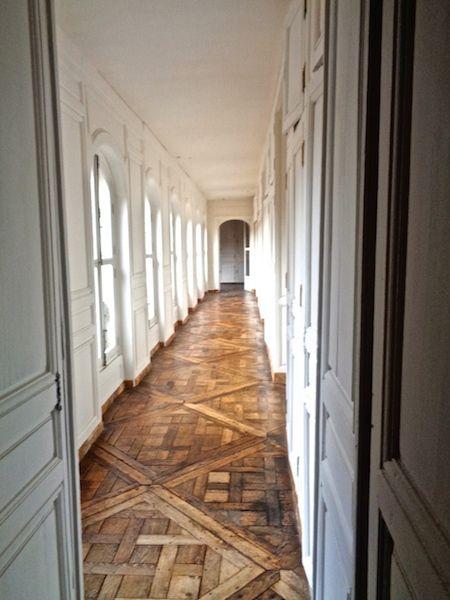 Zwiedzanie Versailles Palace powrotem korytarz