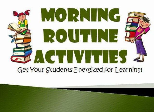 Struggling to get your students on task in the morning? These classroom morning routine activities will help them get energized for learning!
