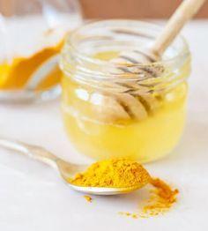 Açafrão com mel de abelhas