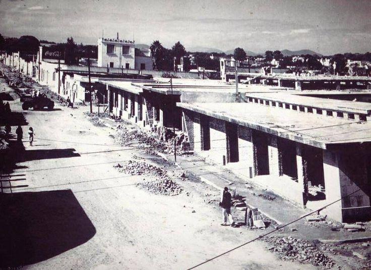Construcción mercado santa tere