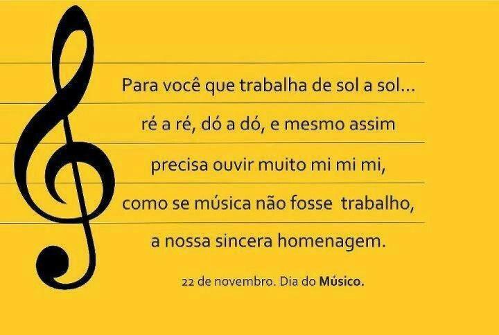Dia do músico: To Inspire, Read, Day, Sentences To, Instead Of