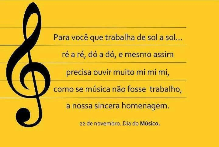 Dia do músico: Read, Day, Músico, Instead Of