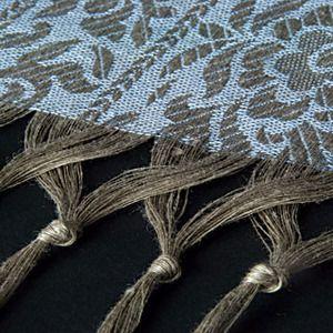 Idea para flecos de tapetes