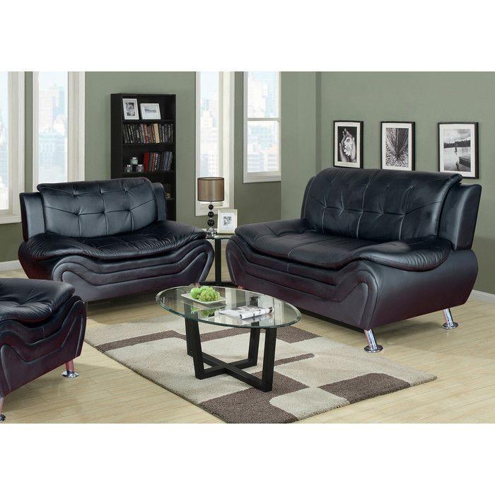 30+ Leather living room sets wayfair info