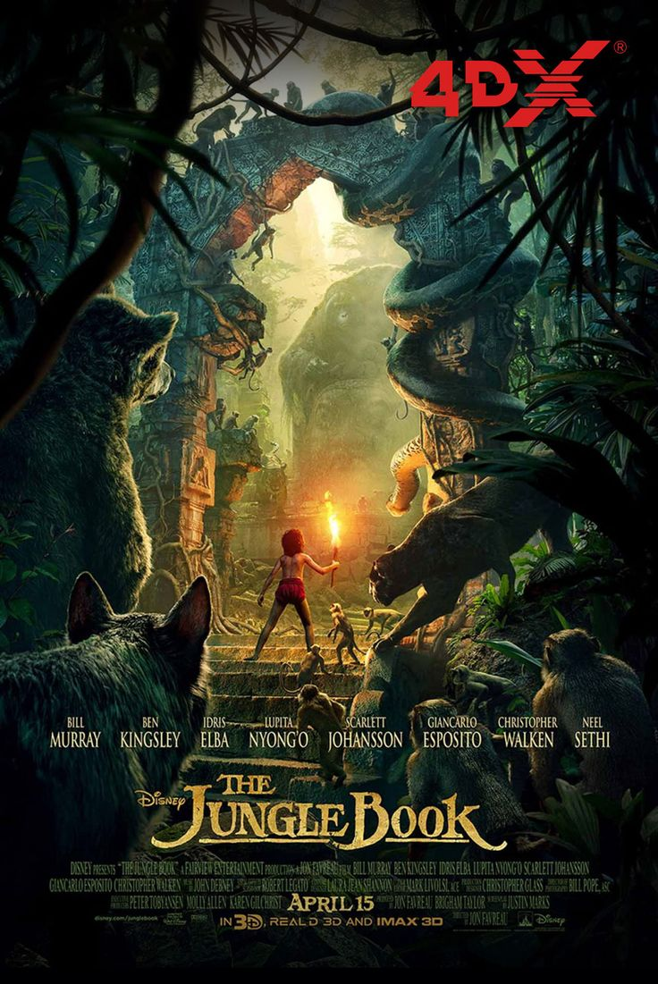 Our next multi-sensory, digital 4DX experience is 'The Jungle Book!' It starts on Friday at Nu Metro The Pavilion Shopping Centre and V & A Waterfront!  Bookings now open at numet.ro/junglebook :D