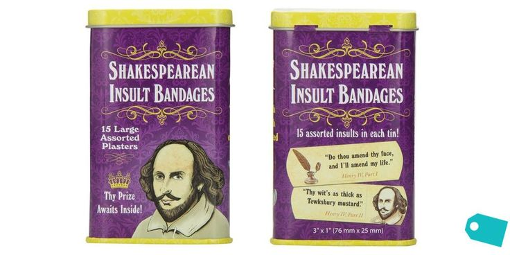 Your inner Hamlet needs these Shakespeare insult bandages