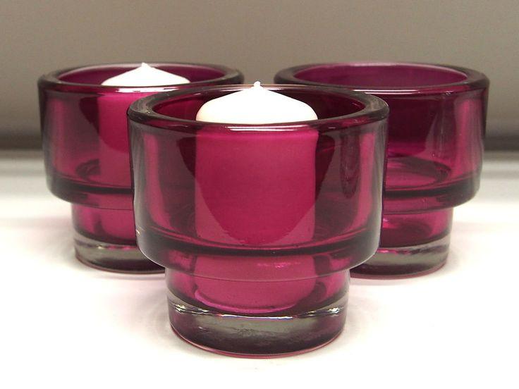 4x IKEA Teelichthalter Kerzenhalter Teelichtgläser Glas Teelicht Teelichtglas